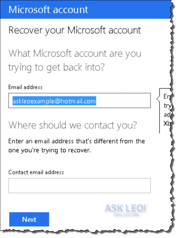 How To Recover A Forgotten Email Address