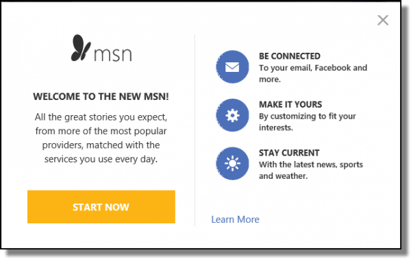 MSN marketting