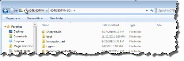 Windows 7 Explorer Details View