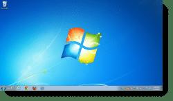 Now that's a clean desktop!