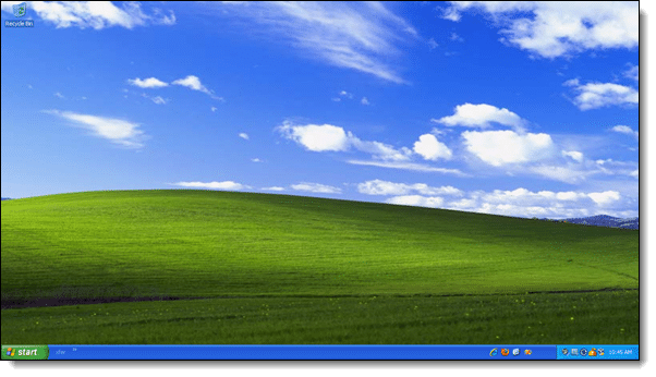 Leo's XP Desktop