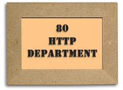 Port 80: the http department