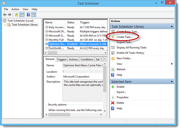 Windows Task Scheduler