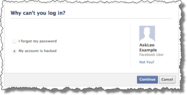 How do i recover my hacked facebook account ask leo facebook asking why ccuart Image collections