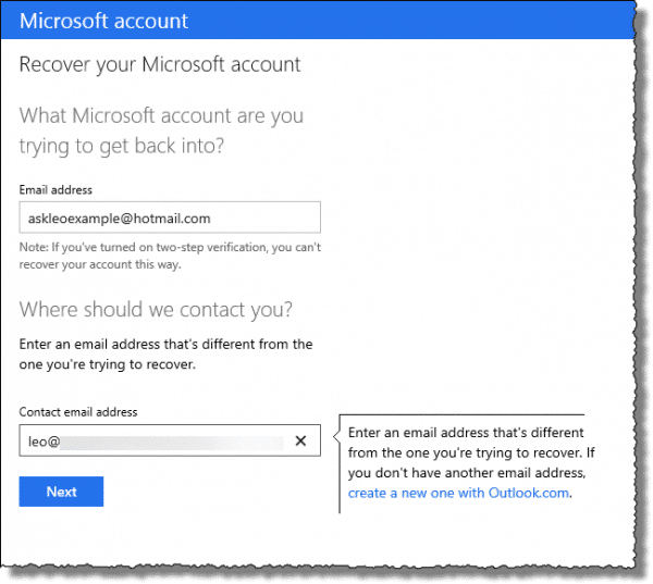 if my hotmail is hacked what do i do