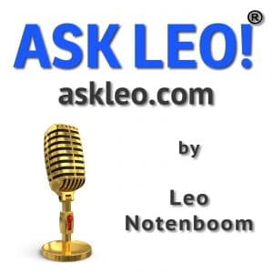 Ask Leo! Podcast