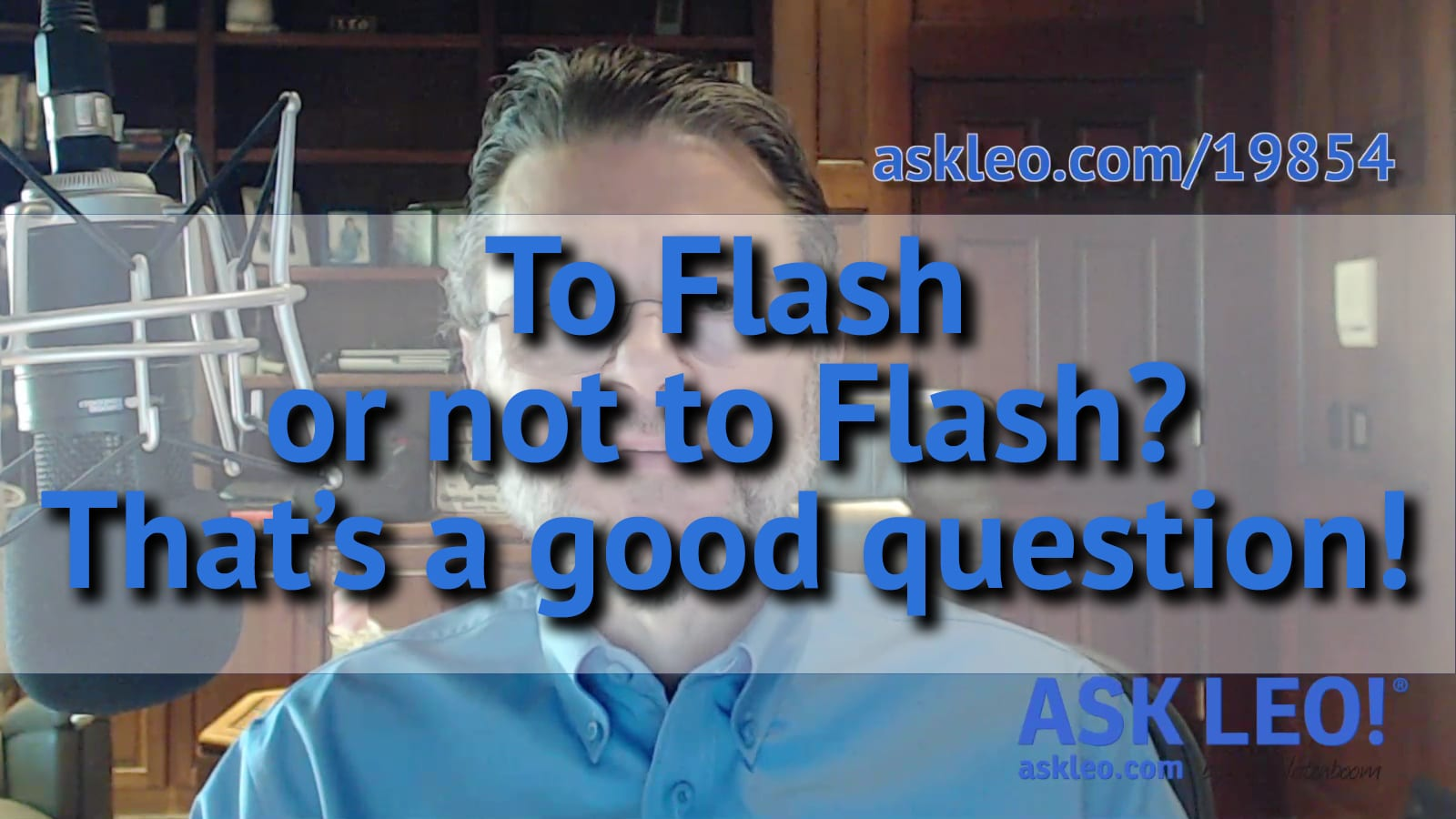 To Flash or not to Flash?
