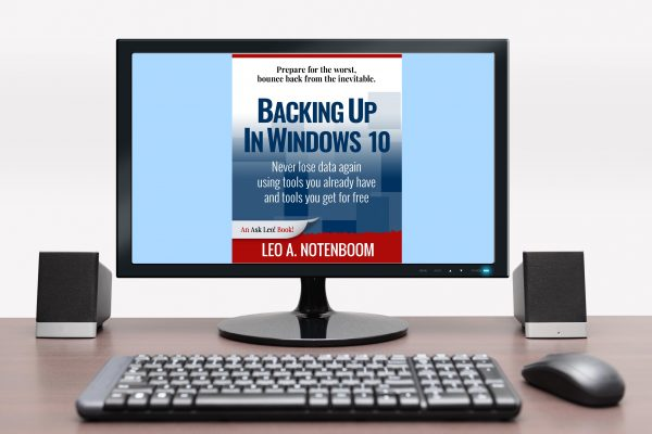 Backing Up In Windows 10