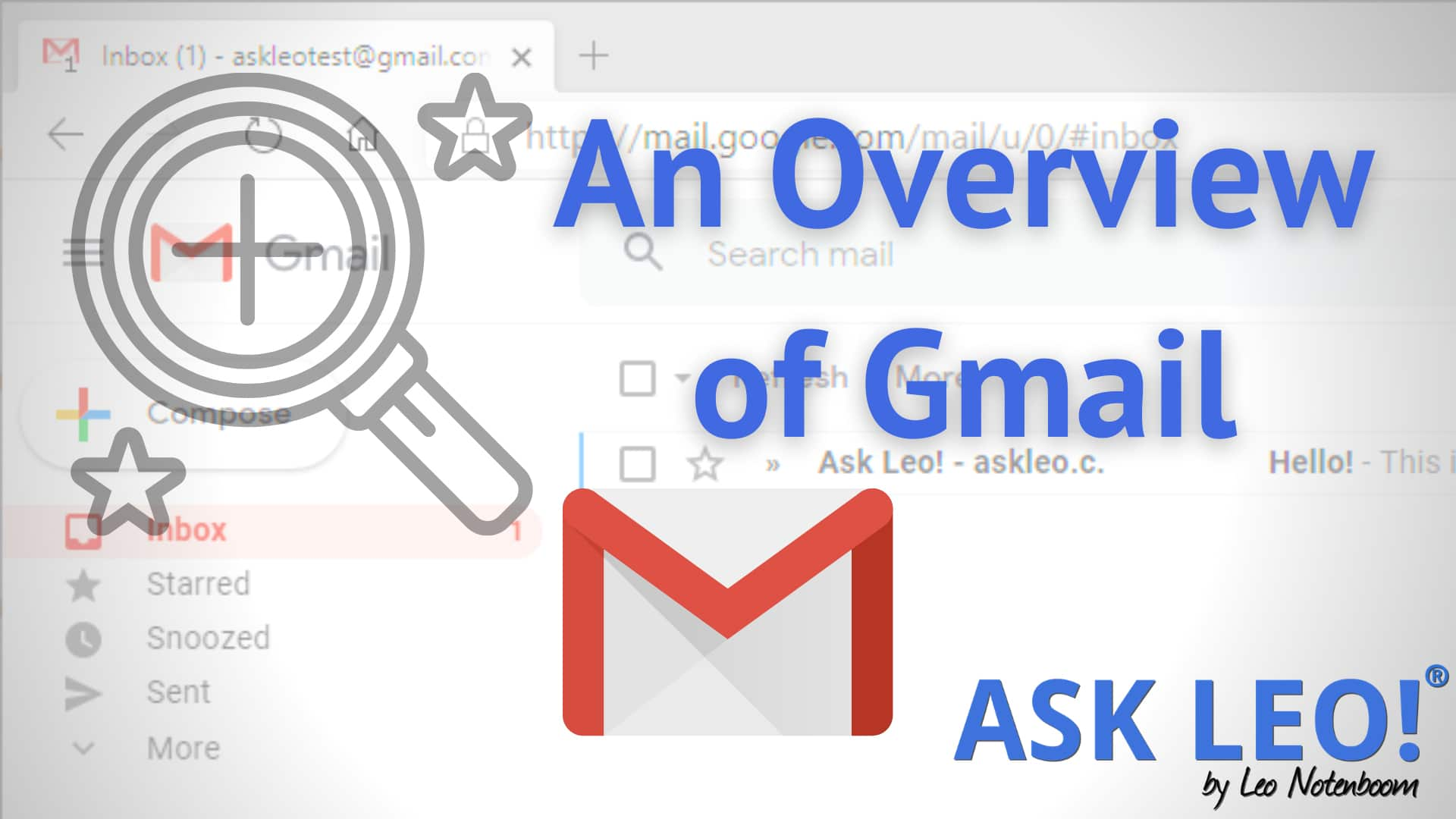 An Overview of Gmail - Ask Leo! Live